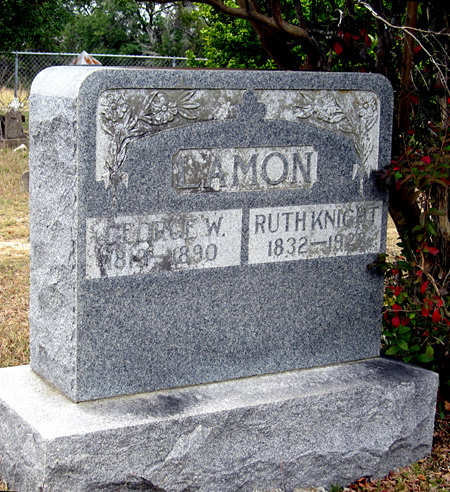 Graves of George Lamon and Ruth Knight Lamon