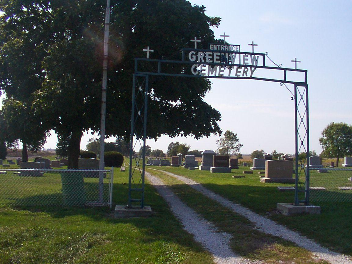 Illinois vermilion county fairmount - Greenview Cemetery Fairmount Il