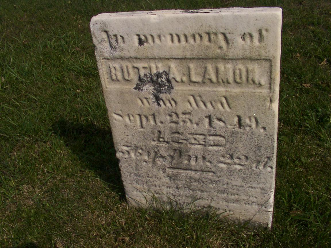 Illinois vermilion county fairmount - Gravesite Of Ruth Ann Chenoweth