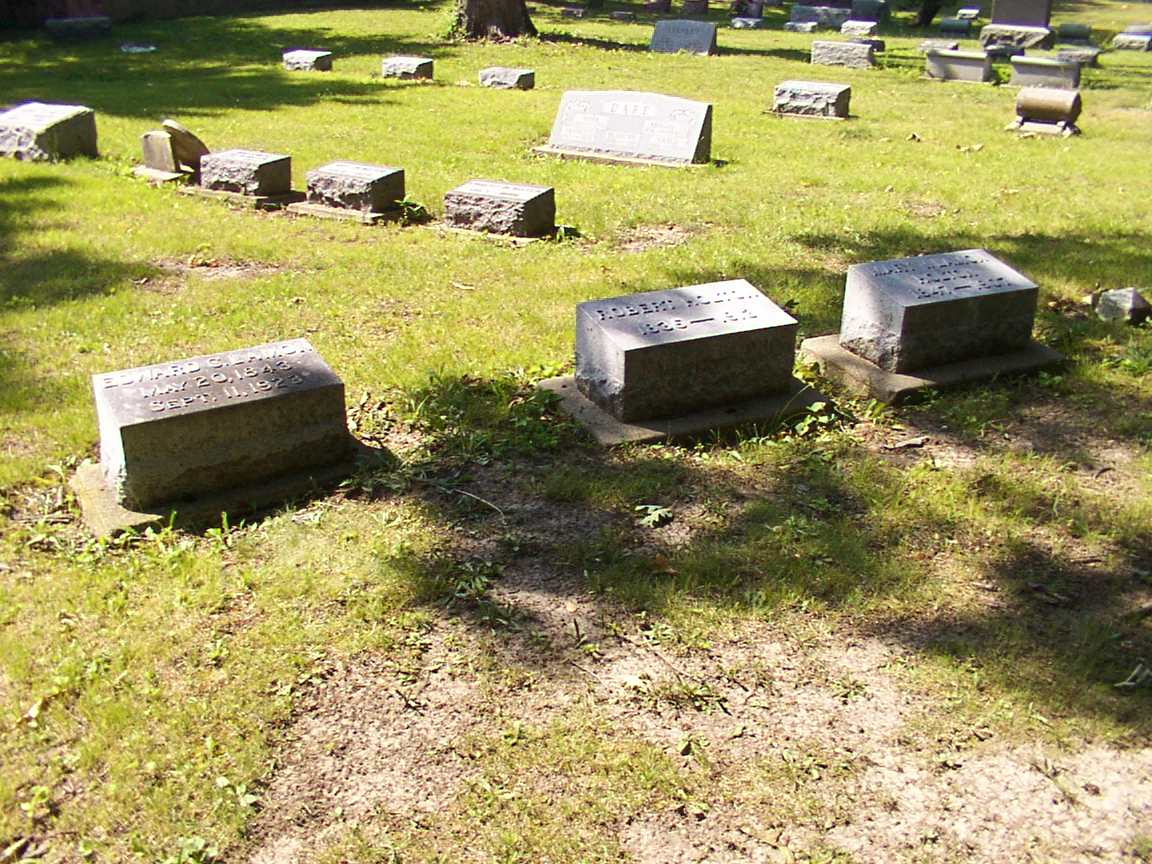 Gravesite of Melissa Beckwith Lamon's Stepchildren
