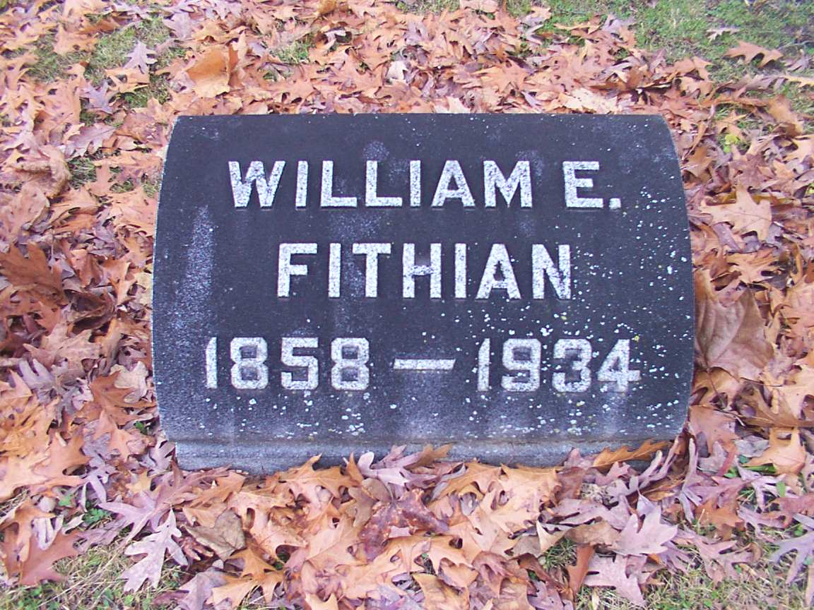 William E. Fithian Grave